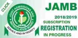 JAMB Closes Registration For 2018 UTME